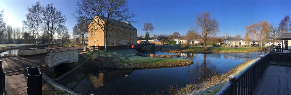 Views of Property of the Month at Yarwell Mill Country Park Home, Peterborough