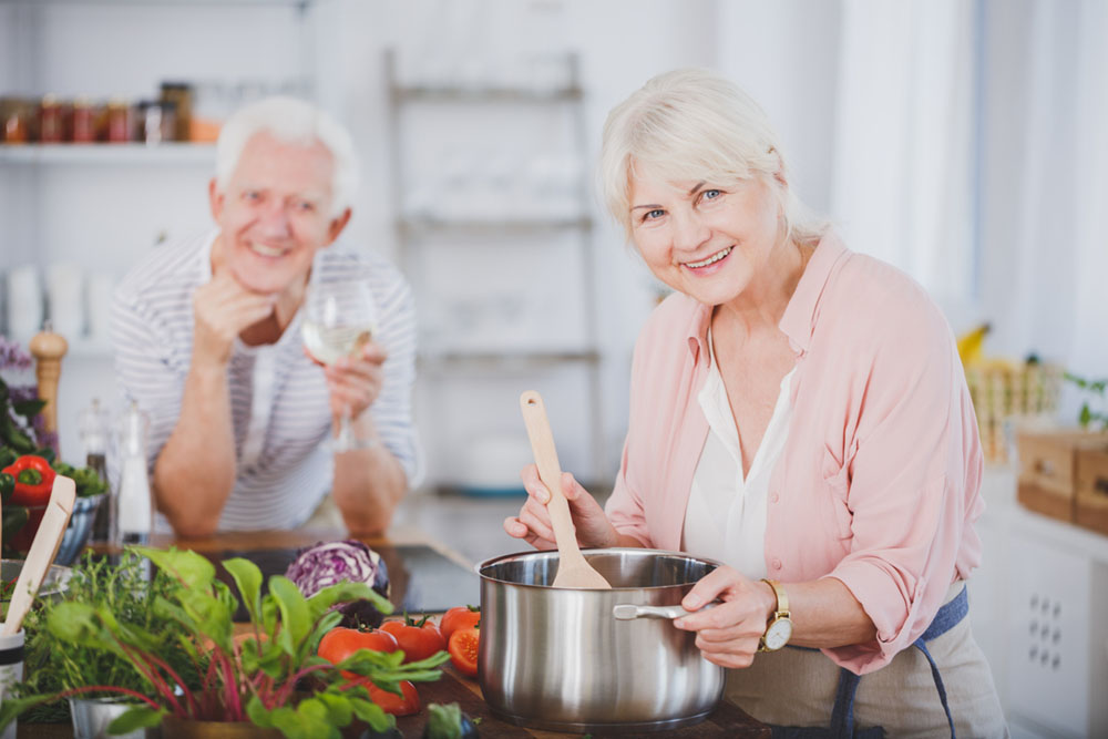 Guide to retirement diet and cooking