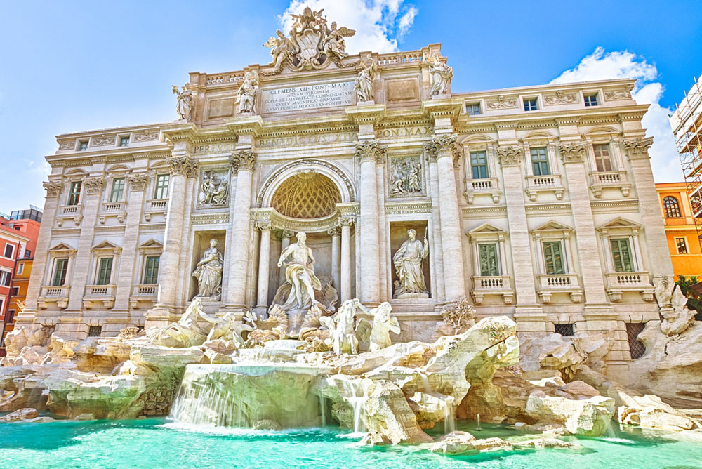 trevi fountain bucket list